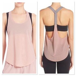 S FREE PEOPLE the easy racerback tank in blush